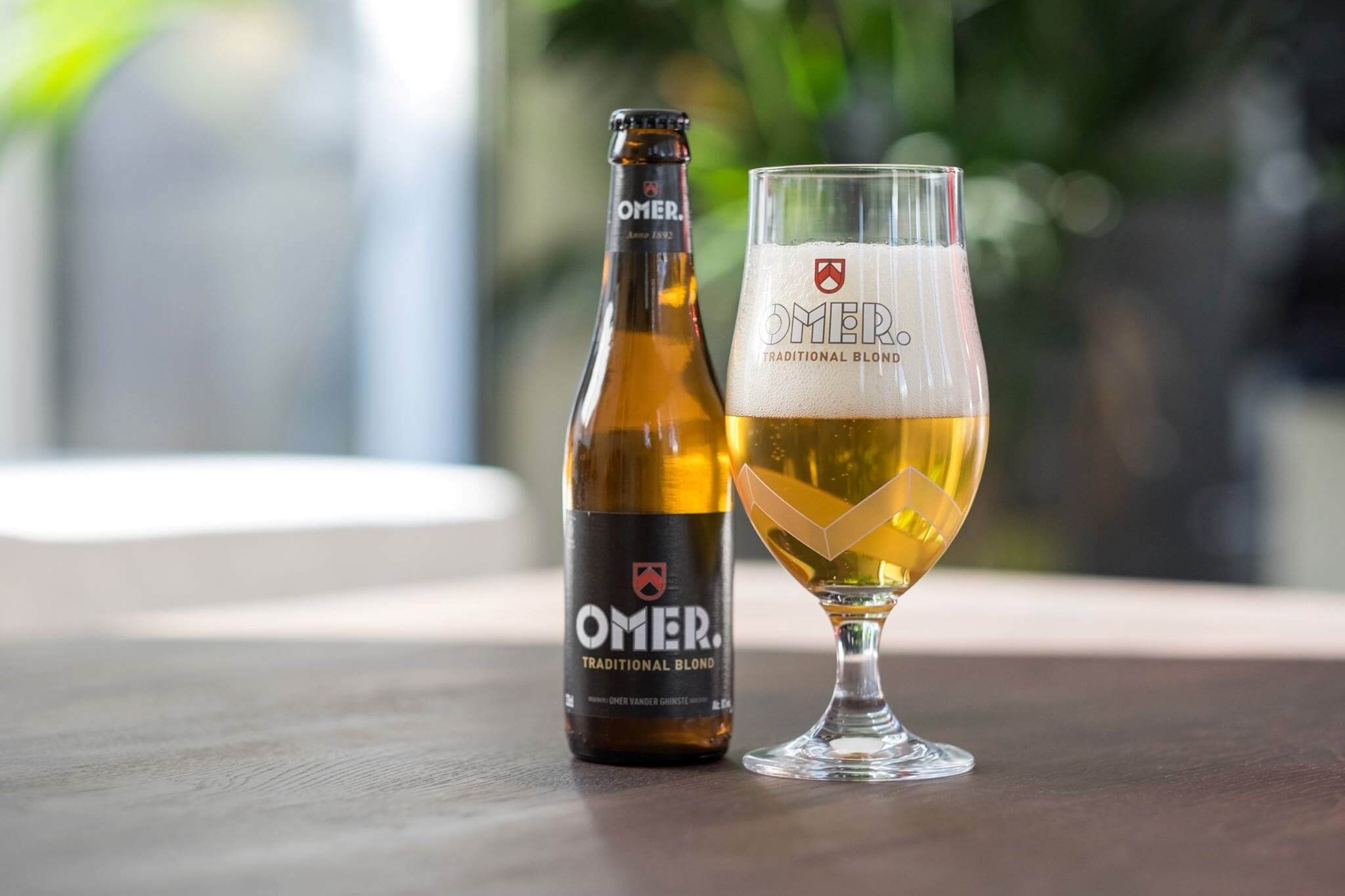Omer pils traditioneel blond